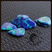 Stone Tones - Malachite - 1 Guitar Pick | Timber Tones